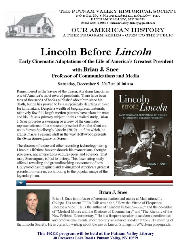 Lincoln Before Lincoln