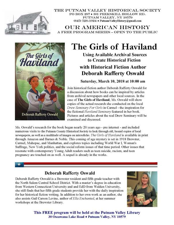 Girls of Haviland Flyer